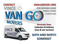 Removals, Furniture, Single Items Collection, Delivery Man and Van in Bath and North Somerset,