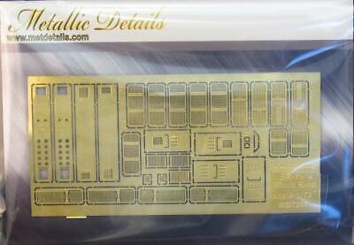 Metallic Details MD7207 -1/72 - Detailing set for SR-71 Blackbird. Grides