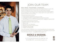 Buckle & Vaughan - Immediate Start