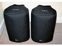 Padded speaker cover for Yamaha MSR250 / Stagepas 600i
