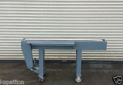 4 X 64 Conveyor With Single Pack Off Table Conveying Material Handling