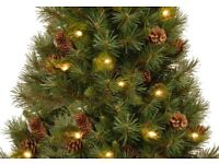 7' Dew Drop Pre Lit Artificial Christmas Tree