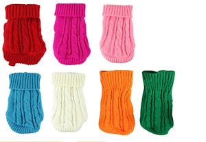 Pullover Strickpullover Welpenpullover für kleine Hunderassen