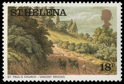 """ST. HELENA 306 (SG327A) - """"St. Paul's Church"""" by Vincent Brooks (pa83559)"""