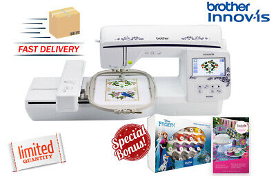 Brother Innov-s Nq1600e 6x10-inch Embroidery Machine Wbonus Thread Software