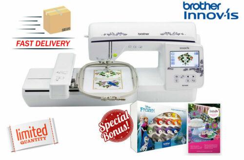 Brother Innov-ís NQ1600e 6x10-Inch Embroidery Machine w/BONUS Thread + Software