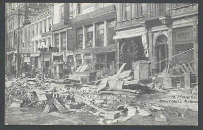 1911 PPC* Dayton Oh Natural Disaster No Main St Flood