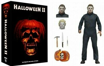 Halloween 2 From 1981 Film Ultimate Michael Myers Action Zahlen NECA Box