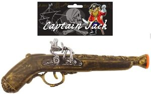 Pirate-Highwayman-Musket-Pistol-Gun-Fancy-Dress-Costume-Accessory-Toy-BNIP