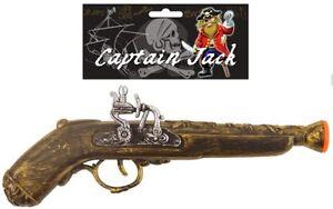 Pirate Highwayman Buccaneer Musketeer Musket Gun Flintlock Pistol Fancy Dress RD
