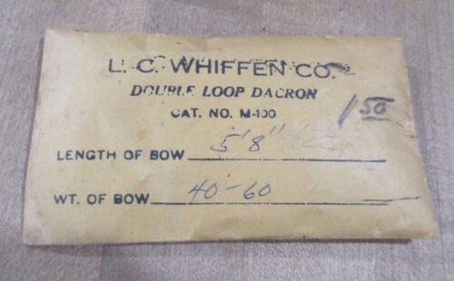 Vintage L C Whiffin Archery  Bow String in Original Envelope 1930