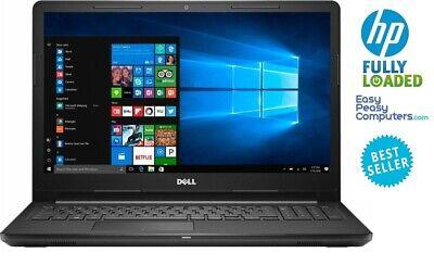 "Dell Laptop 15.6"" WIN10 4GB 500GB DVD+RW WiFi Bluetooth Webcam (FULLY LOADED)"