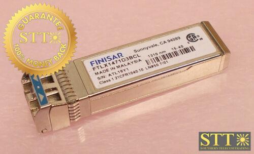 Ftlx1471d3bcl Finisar Sfp 10gbase-lr/lw 10g Ethernet Lc Smf 10km 1310nm