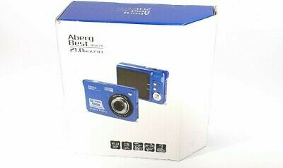 AbergBest 21 Mega Pixels Digital Camera 2.7'' LCD Rechargeable HD Video Blue