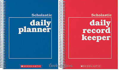Scholastic Daily Record Keeper & Daily Planner Teacher Resources (2 Paperbacks)