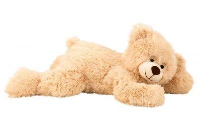 Teddybär 60 cm flauschiger Bär Kuscheltier Teddy Hellbraun Stofftier