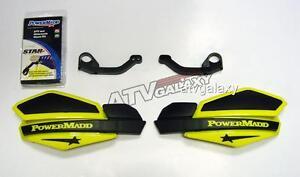 Powermadd Suzuki LTZ400 Star Handguards Black/Yellow