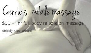 CARRIE'S affordable MOBILE massage Melbourne CBD Melbourne City Preview