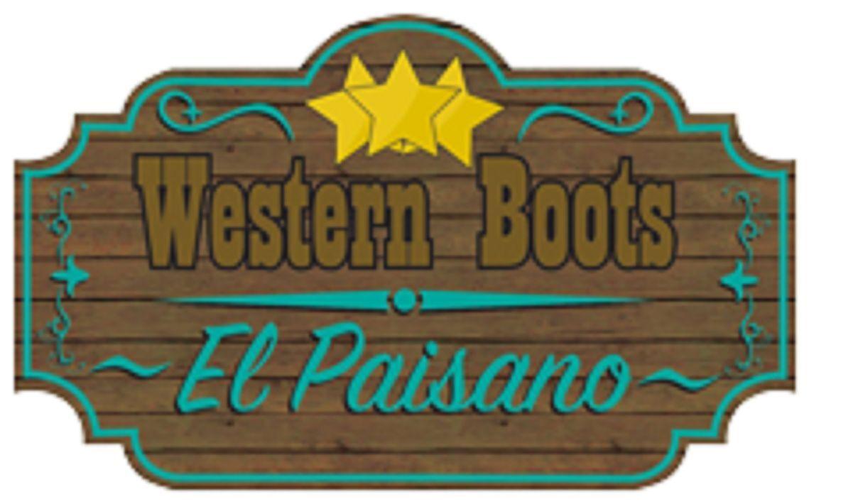 Western Boots El Paisano