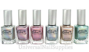 Color Club Lacquer Nail Polish Holographic Halo Hues 2012 Collection