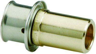 Viega 97580 Pureflow Zero Lead Bronze Pex Press Copper Fitting Adapter -1m15037h