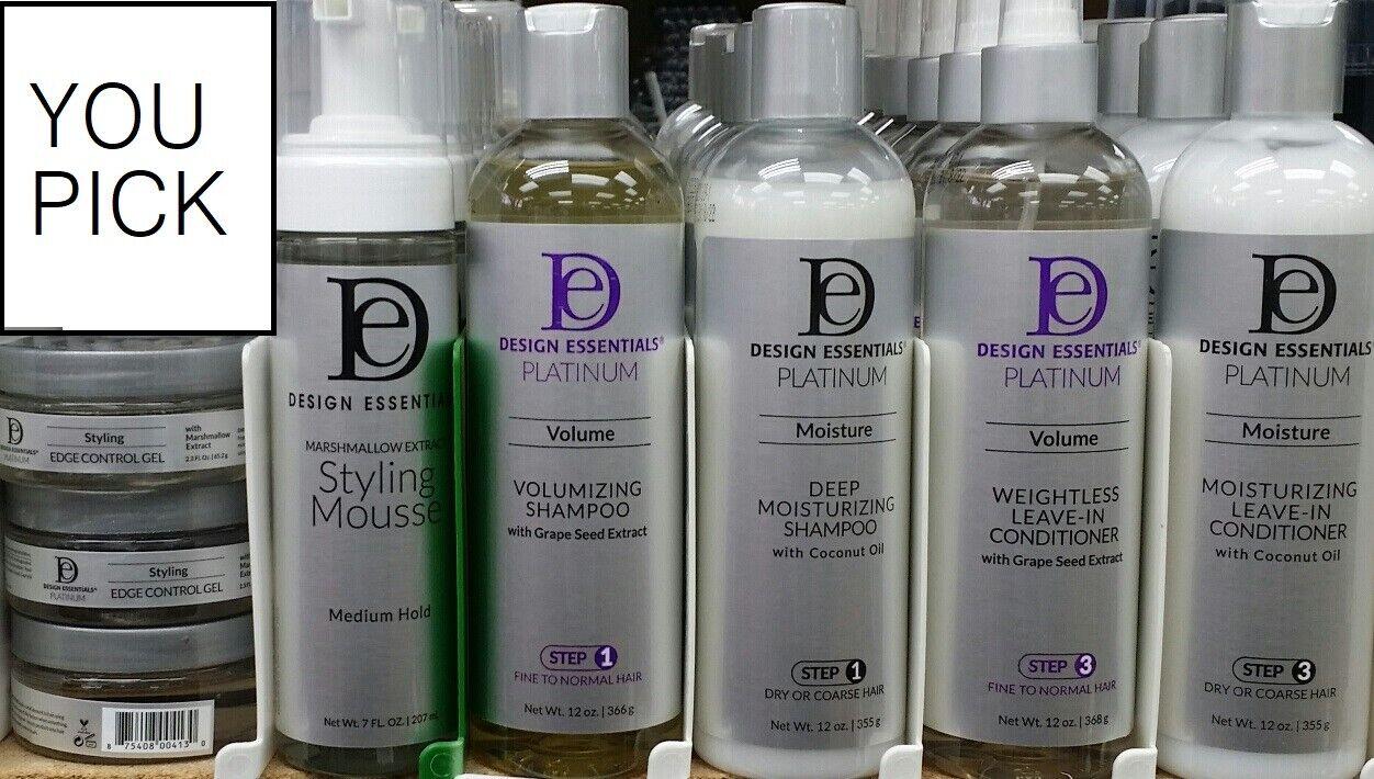 Design Essentials Platinum Hair Products