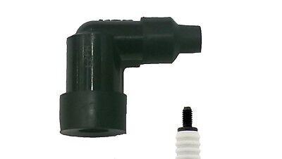 NGK LZFH NON Resistor Spark Plug Cap / Cover (Black) 90º (8710)