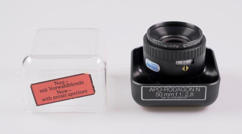 Rodenstock APO-Rodagon N 50mm f2.8- enlarging lens - nice condition!
