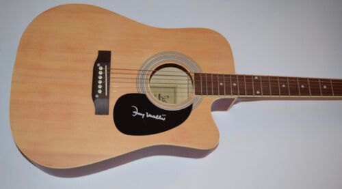 """Johnny Mathis Signed Autographed Full Size Acoustic Guitar """"CHANCES ARE"""" COA"""