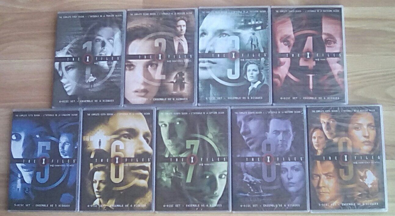 The X-Files Complete TV Series Season 1-9 DVD Slim Set - NEW & FACTORY SEALED