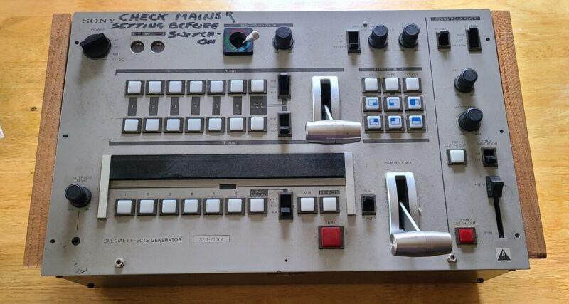 Sony Special Effects Generator SEG-2000A