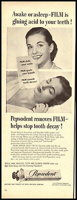 1950 vintage ad for Pepsodent Toothpaste-142