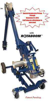 Current Tool Model 100 2-speed 10000 Cable Puller New