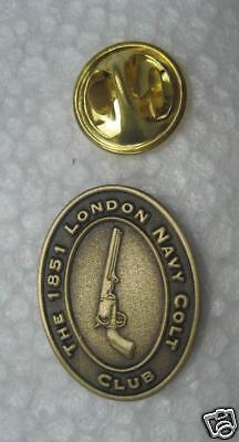 Colt Firearms Blackpowder London Navy Colt Club Pin, 1851, 1860 .44