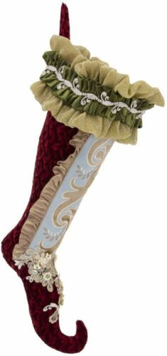 "Mark Roberts Victorian Christmas Stocking 24"" 24-90702"