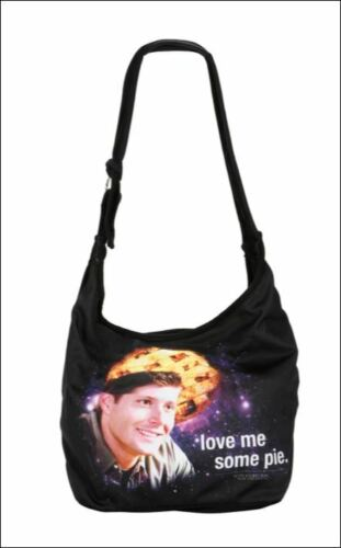 Supernatural Love Me Some Pie Hobo Bag new with tags