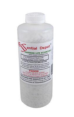 Potassium Hydroxide Flakes 2 lbs KOH - Free Shipping