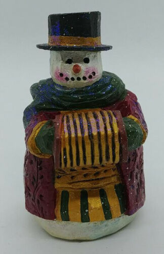 P Schifferl Winters Eve Snowman - New Old Stock/Seasons of Cannon Fall 367834