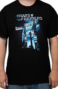 G1 Transformers Soundwave box art t shirt L XL 3X 4X 5X new!