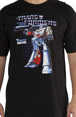 G1 Transformers Megatron box art official t shirt M L 4X -