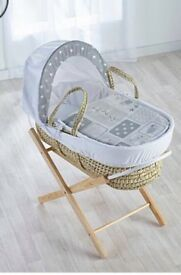 Kindle Valley Moses Basket & Stand Bundle