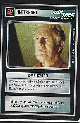 CCG Star Trek 25 Kevin Uxbridge [Foil] Promo