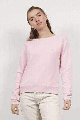 Vintage Ralph Lauren Baby Pink V Jumper/sweatshirt- Size Small