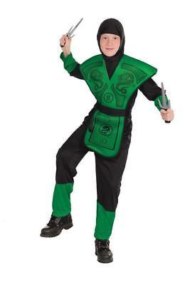 Green Ninja Child Costume (Green Ninja Costume)