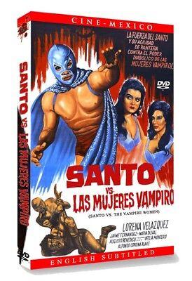 SANTO VS THE VAMPIRE WOMEN (Eng Subtitled) DVD