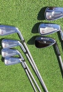 Ladies TaylorMade Golf clubs Irons and Wedge