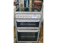 Hotpoint ceramic electric cooker very good condition 60cm