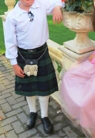 Irish Kilt Outfit - Age 11-12