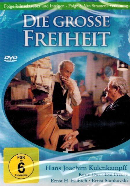 DVD NEU/OVP - Die grosse Freiheit - Folge 7 & Folge 8 - Hans Joachim Kulenkampff