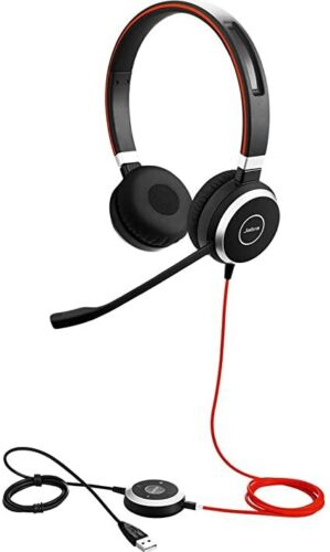 Jabra Evolve 40 UC Professional headset Work from home Brand New Sealed.